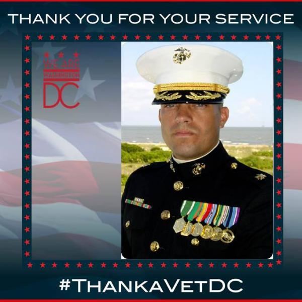 #ThankAVetDC