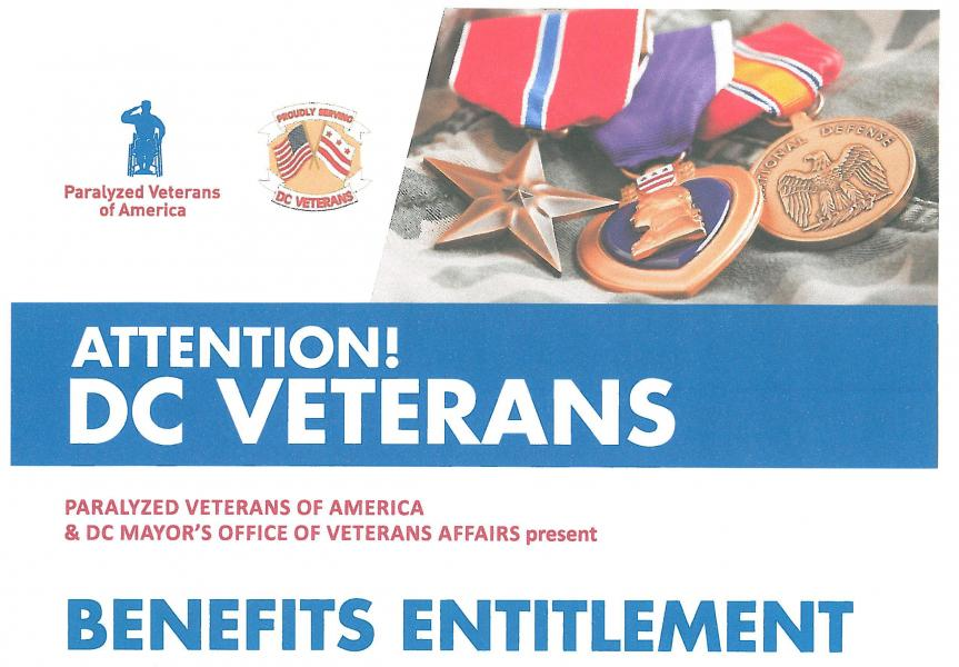 America and the dc mayor s office of veterans affairs present benefits