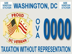 Veterans Vehicle Tags