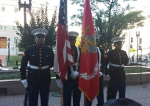 POW/MIA flag raising ceremony