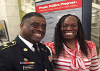 DC's first female Purple Heart recipient, SPC Antoinette Scott Honored